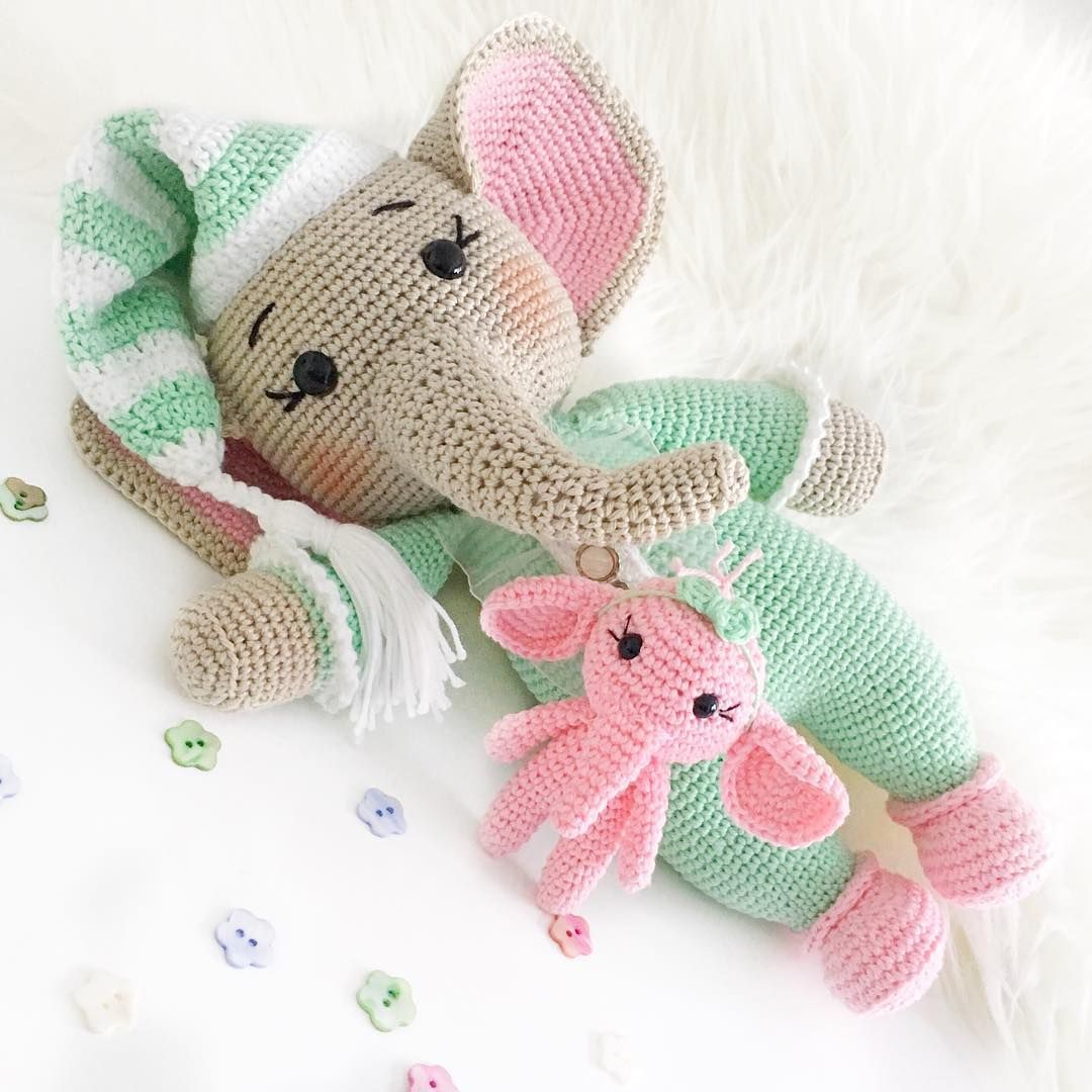 The Sweetest Crochet Elephant Patterns To Try | The WHOot | 1080x1080