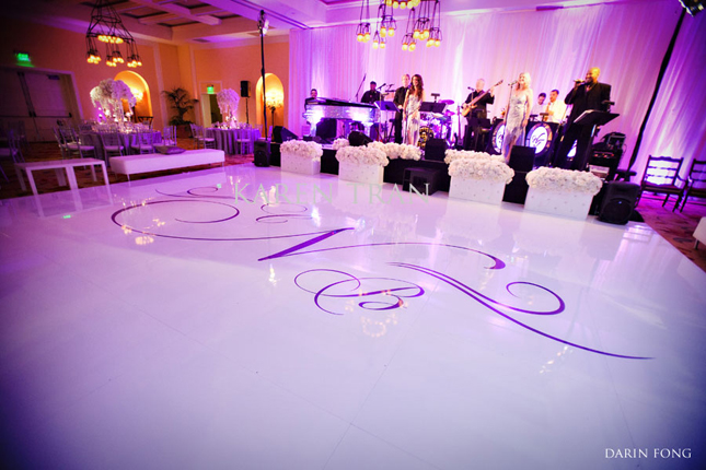 White Dance Floor Rental Ct