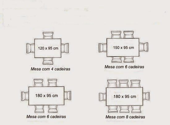 medidas de mesa pequena dicas pinterest mesa de