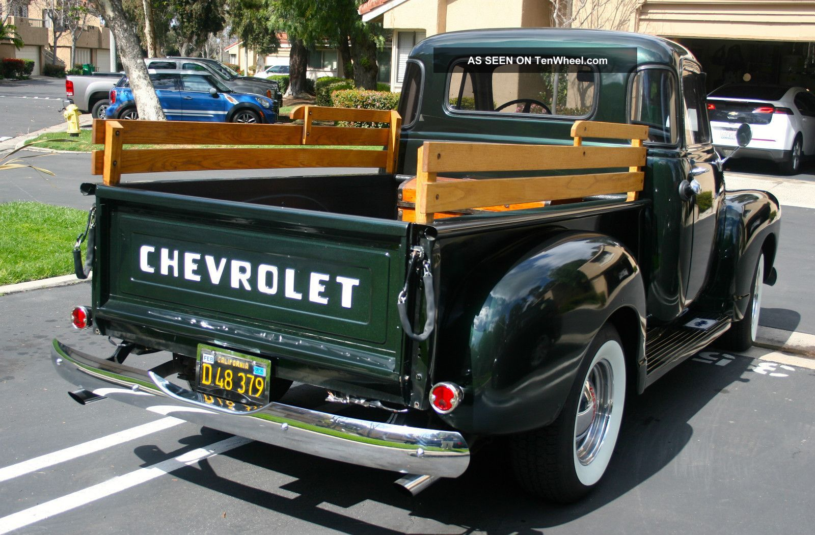 Truck 57 chevy truck bed wood : 1954 gmc pu interior | 1954 Chevy Truck 3100 3 Speed 5 Window ...