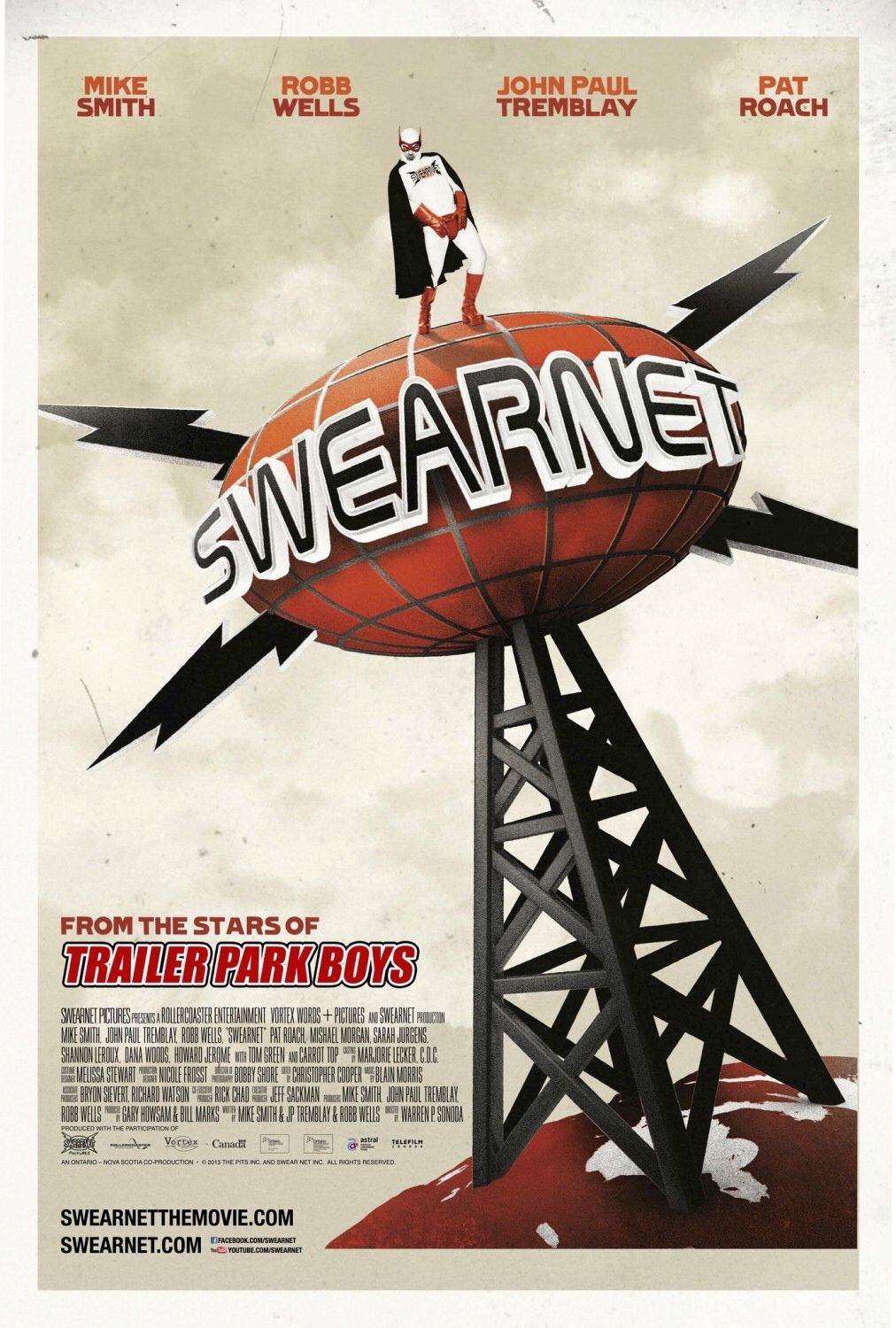 "Posyer de ""Swearnet: The Movie"" desde Canadá."