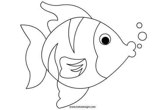 pesce da colorare arte della pietra disegni di pesci e
