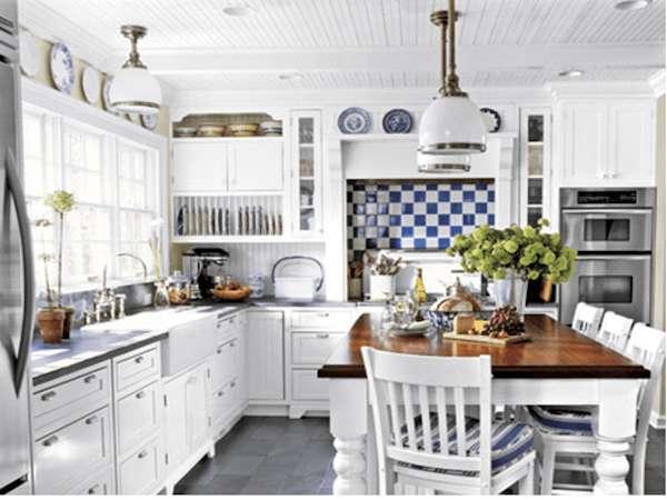 Kare Beyaz Mutfak Dekorasyon Fikirleri 434856 Dekorcenneti Com Rustik Mutfak Country Mutfak Ic Tasarim Mutfak