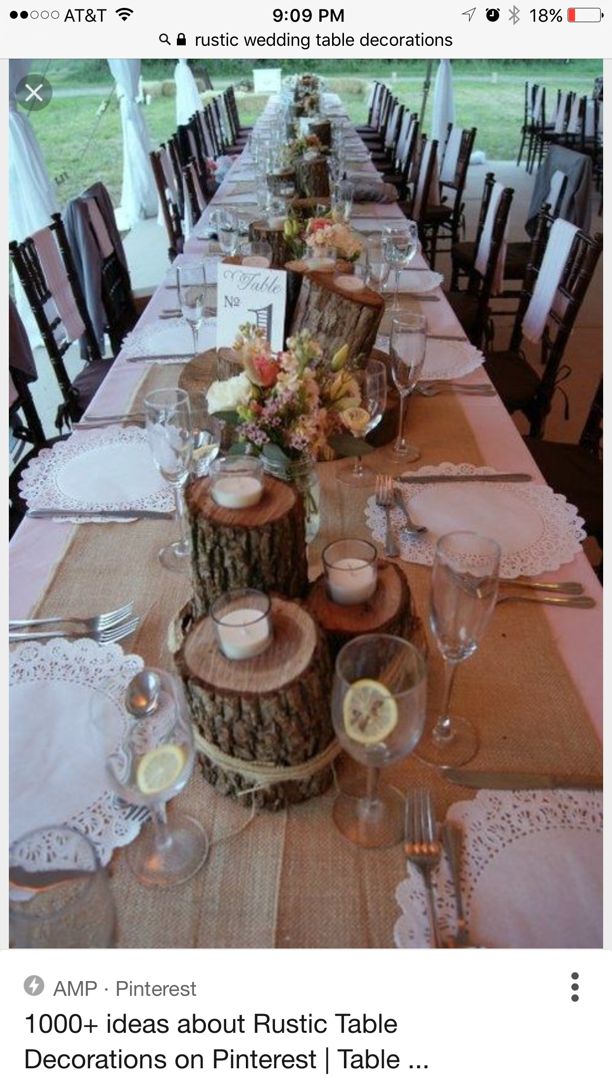 Lord of the Rings / Hobbit Wedding: Decoration: rustic head table  decoration ideas, centerpieces, candles, wood