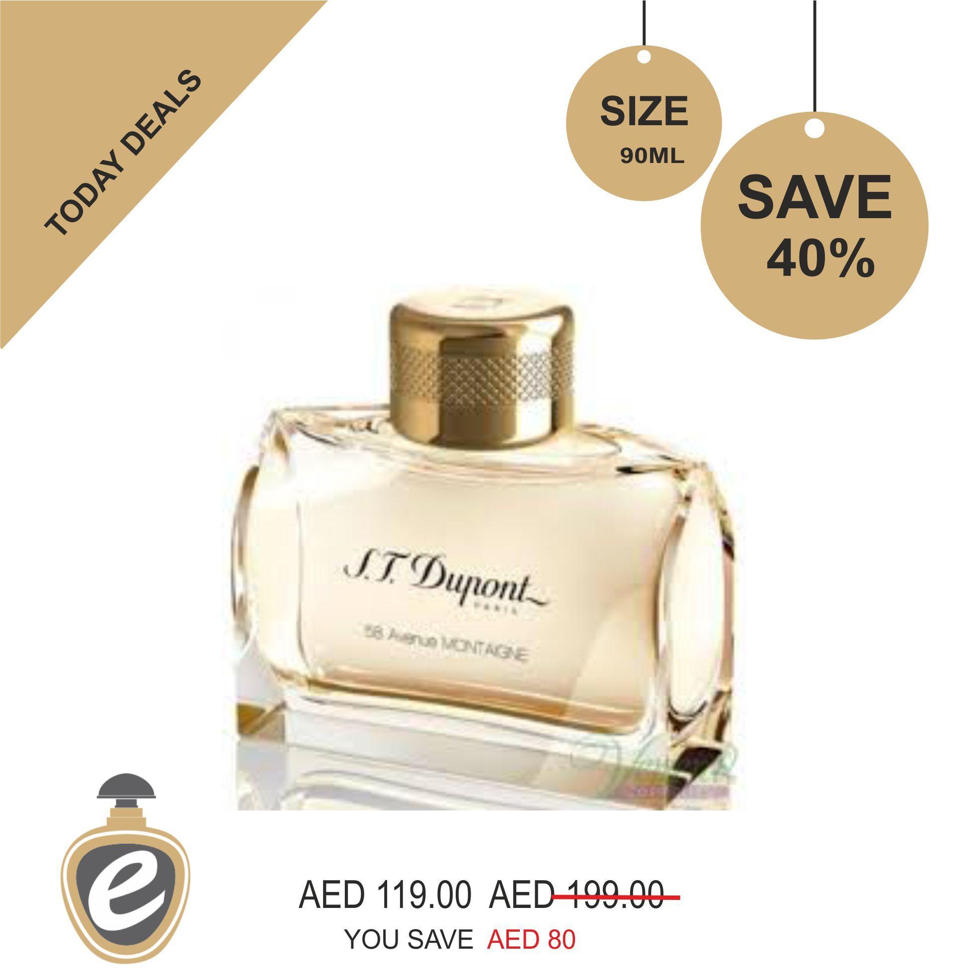 58 Avenue Montaigne pour Femme S.T. Dupont Eau De Parfum For Women ...