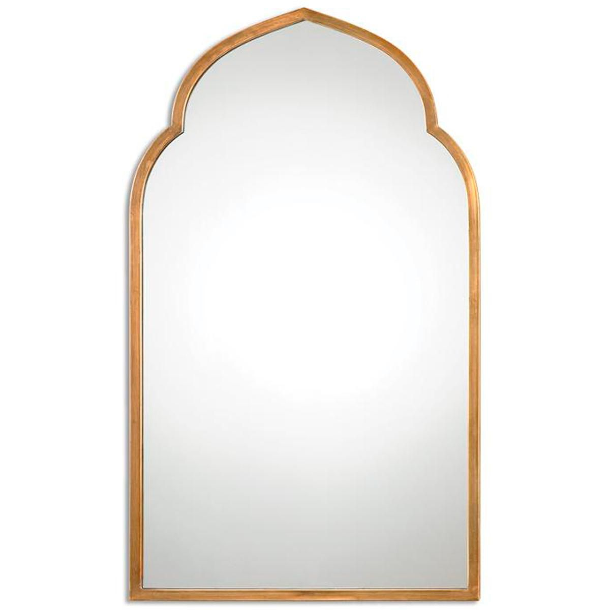 Golden arabesque mirror ednam pinterest arabesque mirror uttermost kenitra gold arch decorative wall mirror 16902815 overstock great deals on uttermost mirrors mobile amipublicfo Choice Image