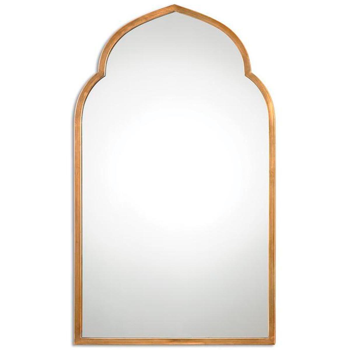 Golden Arabesque Mirror Ednam Pinterest Powder Room Bath