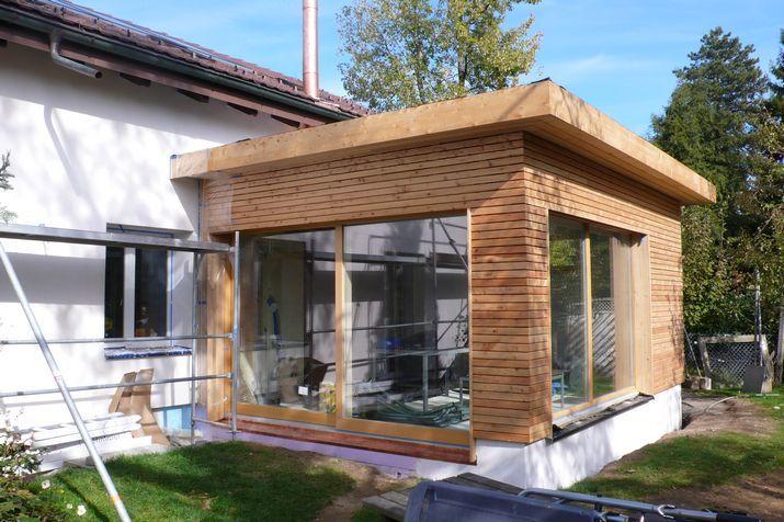 Anbauten Aus Holz Und Glas anbau an ein wohnhaus in hamburg harms und köster bau gmbh anbau