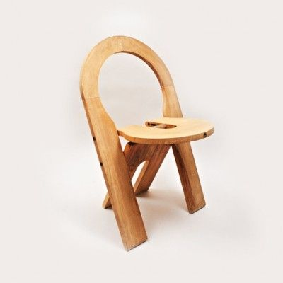 Ts Folding Chair Dinner Chair By Roger Tallon For Sentou Hout