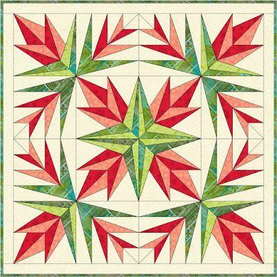 Christmas Cactus wall hanging … | Pinteres… : christmas wall hanging quilt patterns - Adamdwight.com