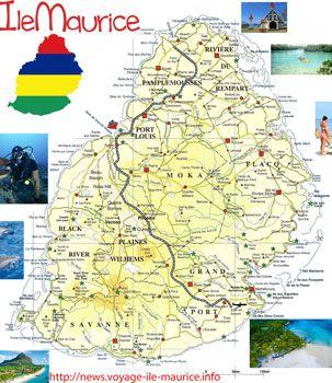 Carte De Ile Maurice Imvt Avec Images Ile Maurice Maurice