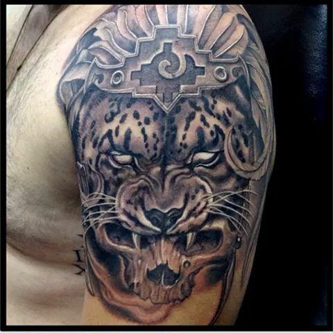 Pin De Jledezmam Ledezma Murillo En Tatuajes Tattoos Aztec Tattoo
