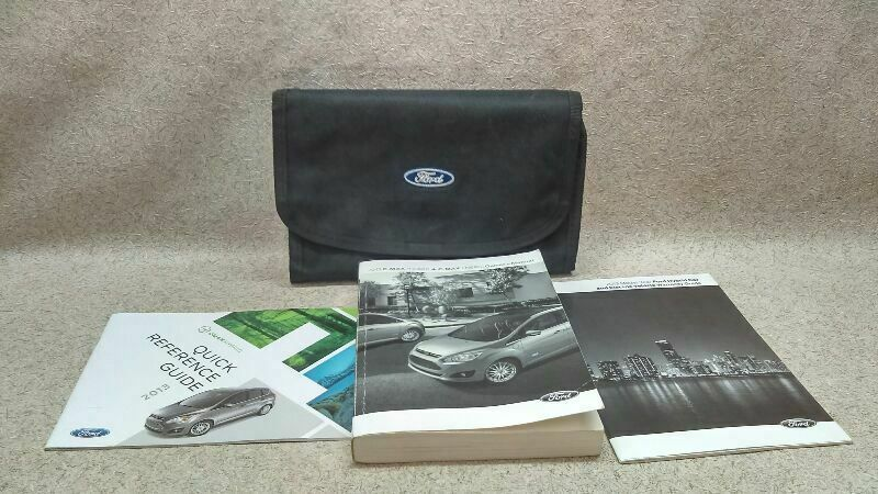 Owners Manual Guide Book Inserts Fits 2013 Ford C Max M 174516 Ford 2013 Ford Explorer Guide Book Ford F150 Pickup