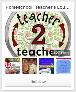Homeschool: Teacher's Lounge Pinterest Board