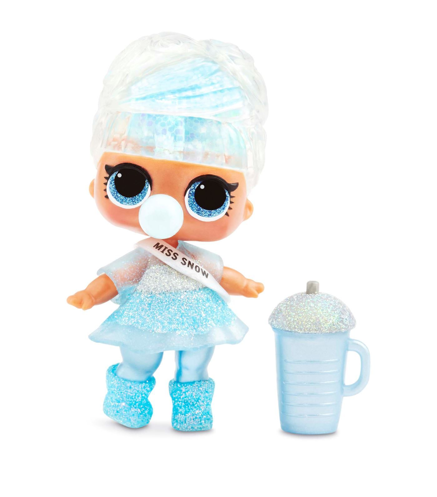 LOL Surprise Glitter Globe Doll Winter Disco Series with Glitter Hair Fun Gift