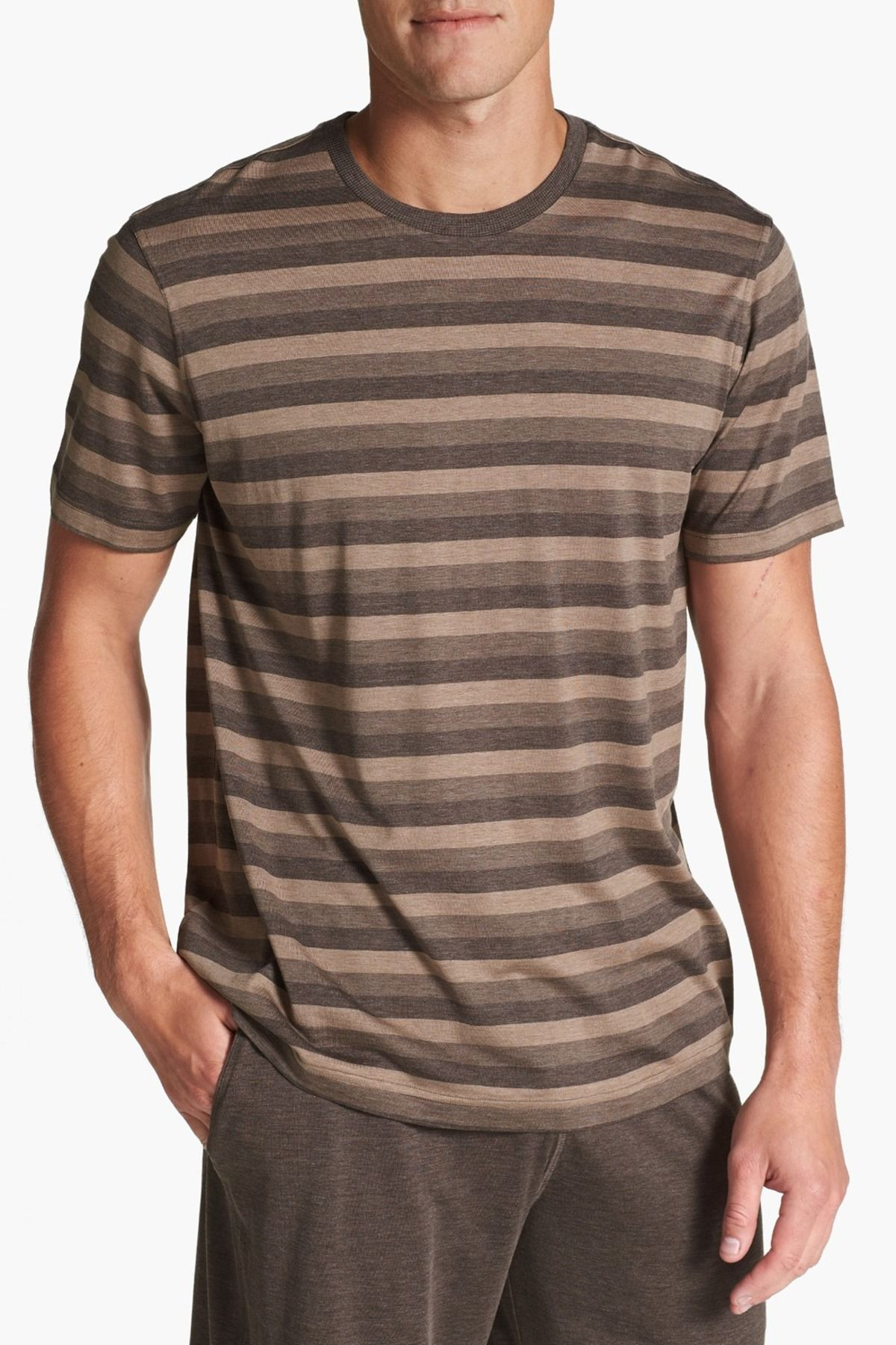 Daniel Buchler | Daniel Buchler Silk & Cotton Crewneck T-Shirt | Nordstrom Rack