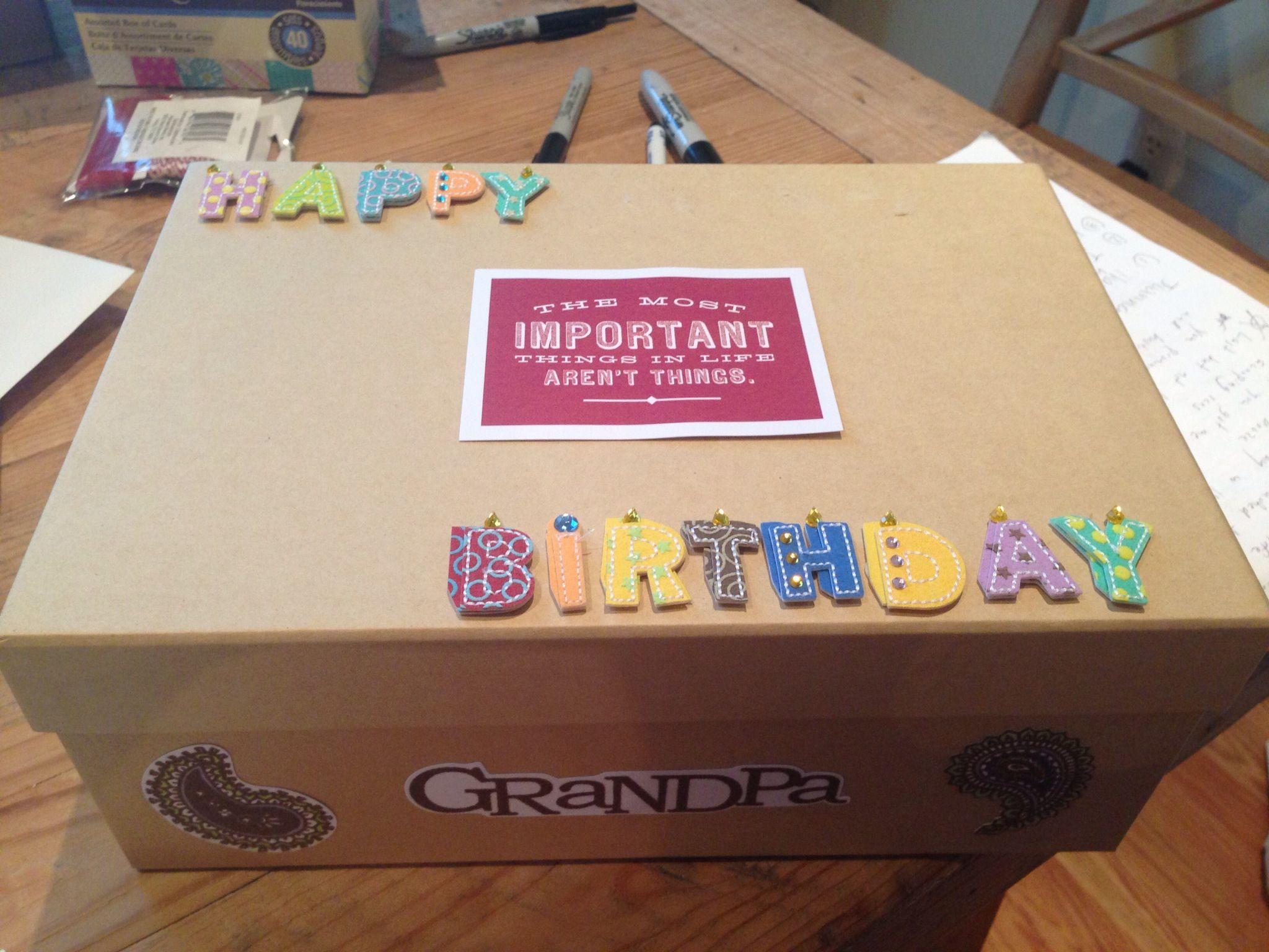 60th birthday box 60 years of memories in the box