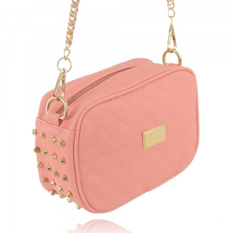 Cute Girls Stud Chain Shoulder Bags I91Z www.thboxes.com | Cute ...