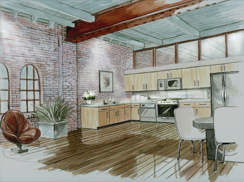 Delightful BohneGrafx Architectural | Interior Design Illustrations