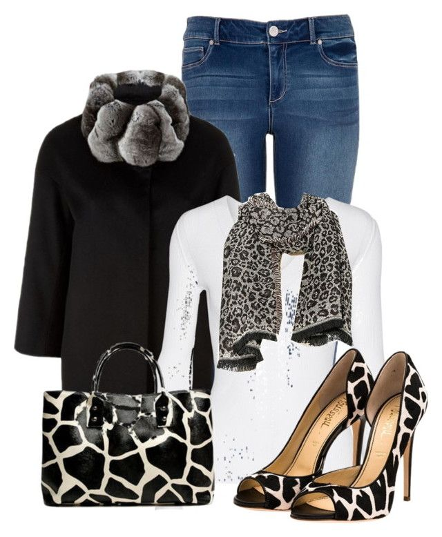 """""""Untitled #13020"""" by nanette-253 ❤ liked on Polyvore featuring maurices, Harrods, Autumn Cashmere, Merona, 19th Street and Jerome C. Rousseau"""