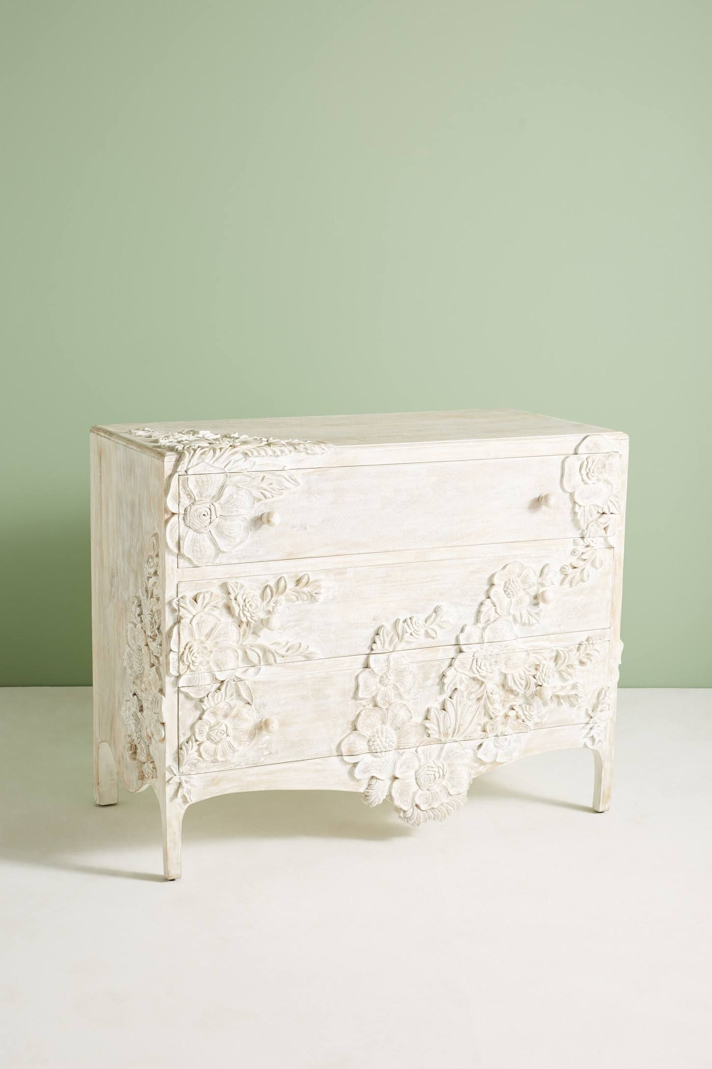 Best Enchantment Three Drawer Dresser By Anthropologie In White 640 x 480