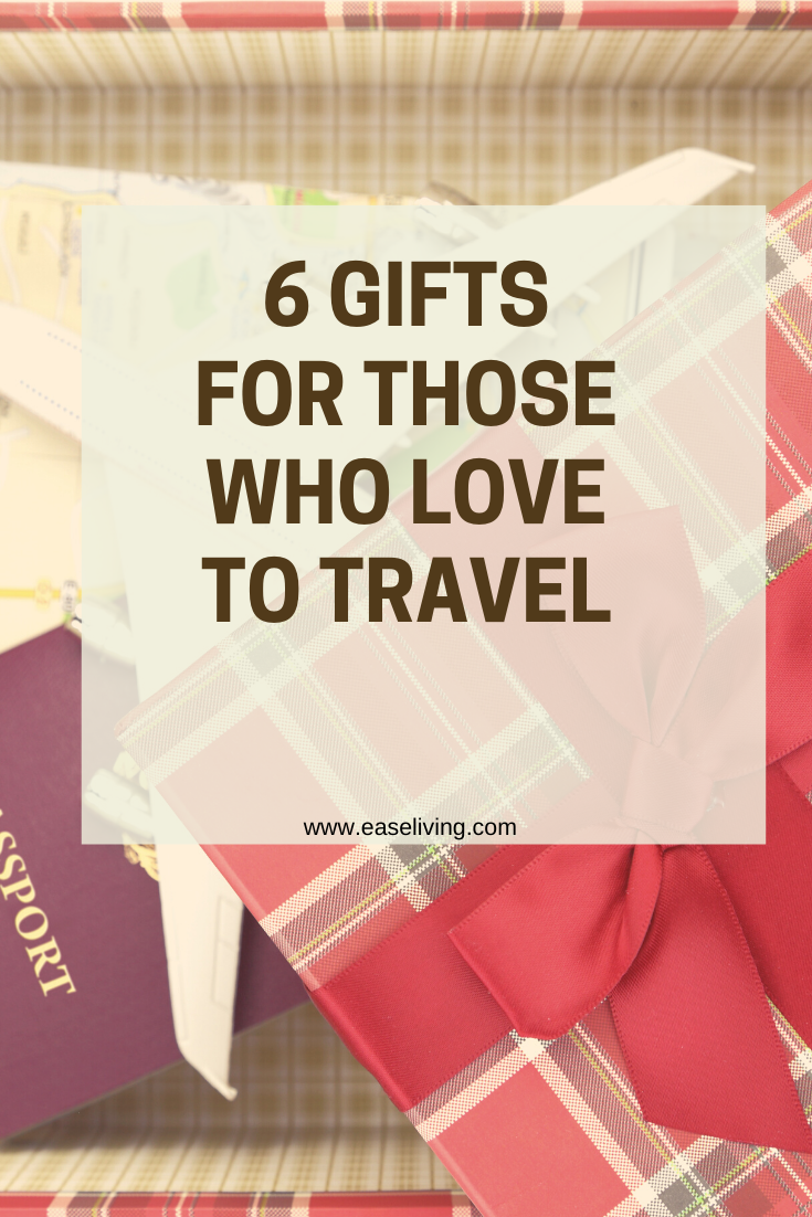 Useful Gifts for Those Who Love to Travel. #travelgifts #giftguide #giftidea
