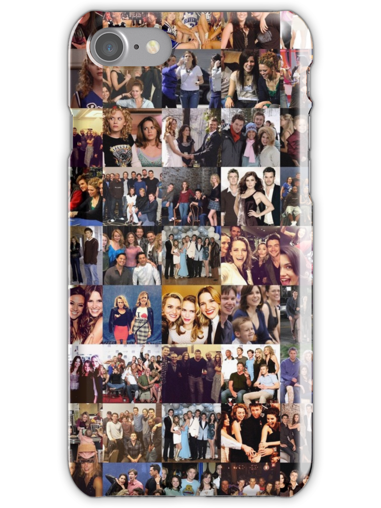 One Tree Hill Cast Collage Many Items Available Iphone Case By Fandomxclothing In 2020 Birthday Gifts For Best Friend Boyfriend Anniversary Gifts Cute Boyfriend Gifts