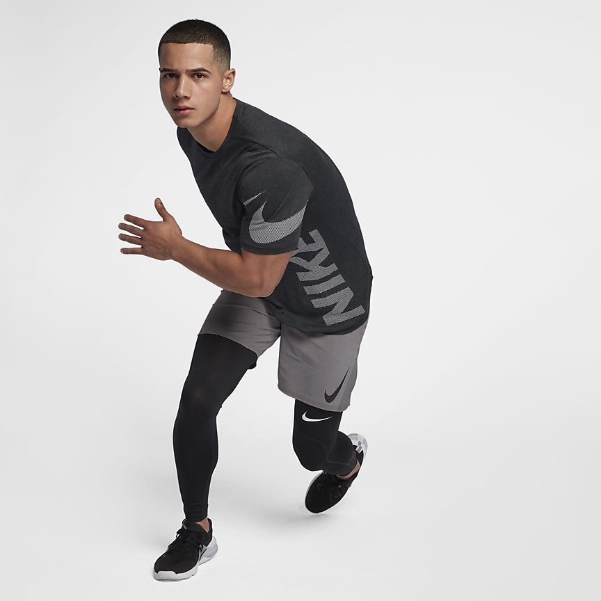 7588f735dc53 Nike Breathe Men s Short Sleeve Training Top Athletic Gear