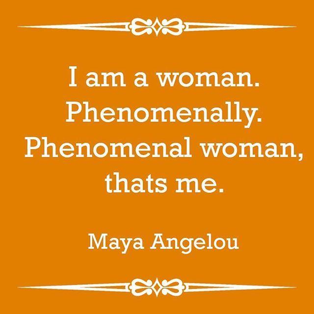 Happy International Women's Day! Today we celebrate the #PhenomenalWoman of the world! #Women #PhenomenalWoman #MayaAngelou #MayaAngelouQuote  #InternationalWomensDay2016 #InternationalWomensDay #WomensDay2016 #WomensDay #QuoteOfTheDay #Quote #aTouchofDaz (scheduled via http://www.tailwindapp.com?utm_source=pinterest&utm_medium=twpin&utm_content=post52714942&utm_campaign=scheduler_attribution)