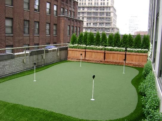 Easyturf Rooftop Putting Green Www Easyturf Com Artificial