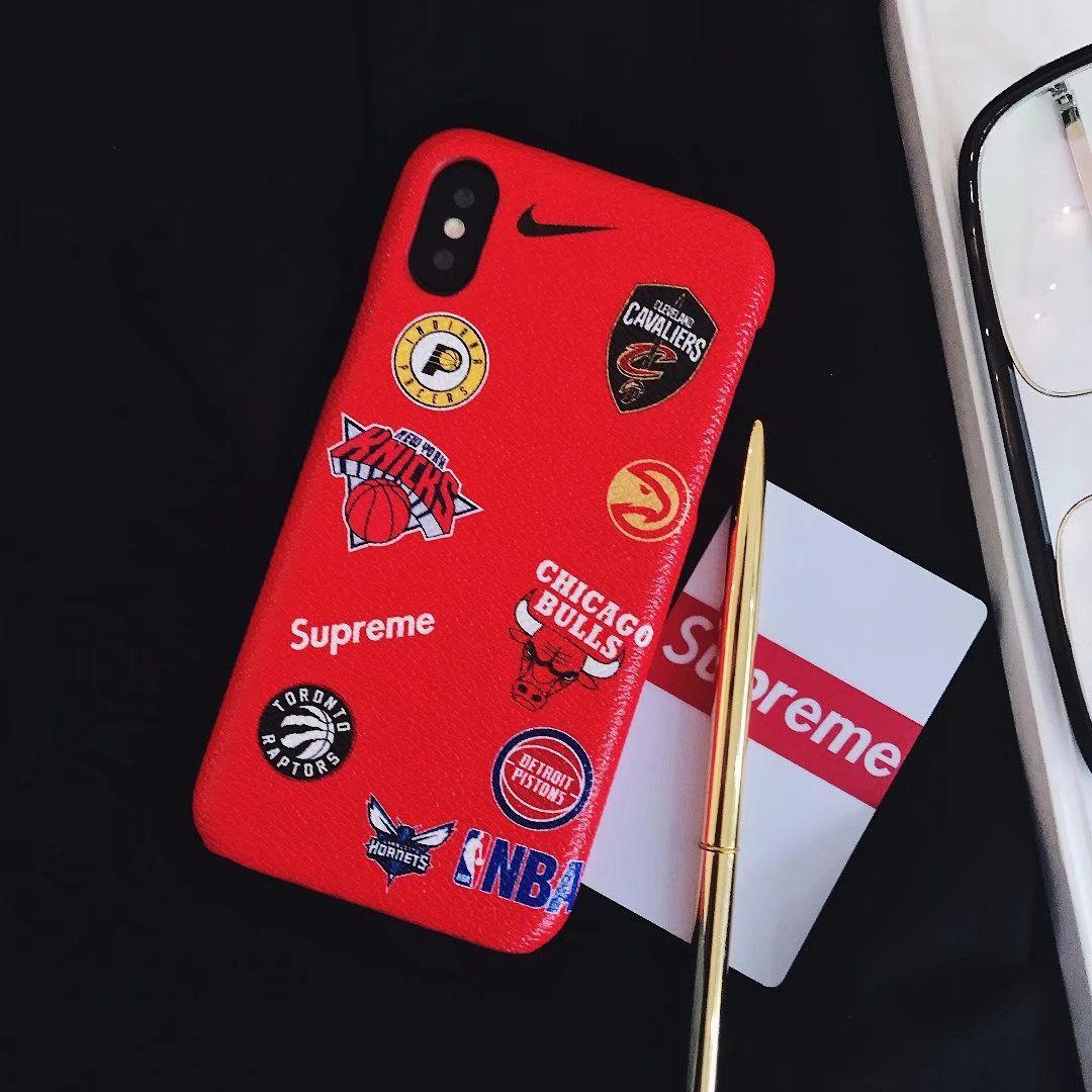 2690 Nba Supreme Iphone 8 Cases Cover Red X Case