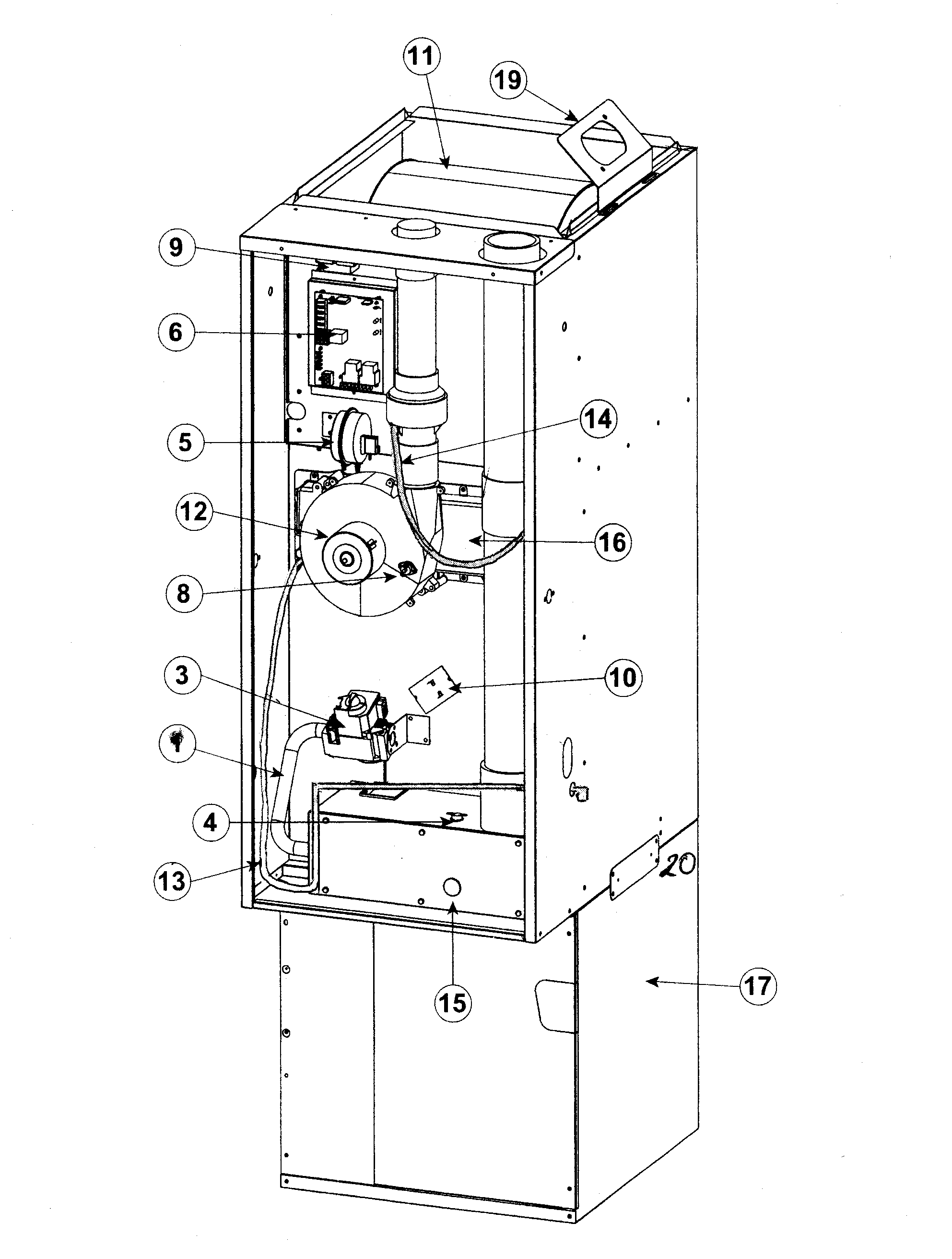 New Wiring Diagram For Nordyne Gas Furnace Diagram