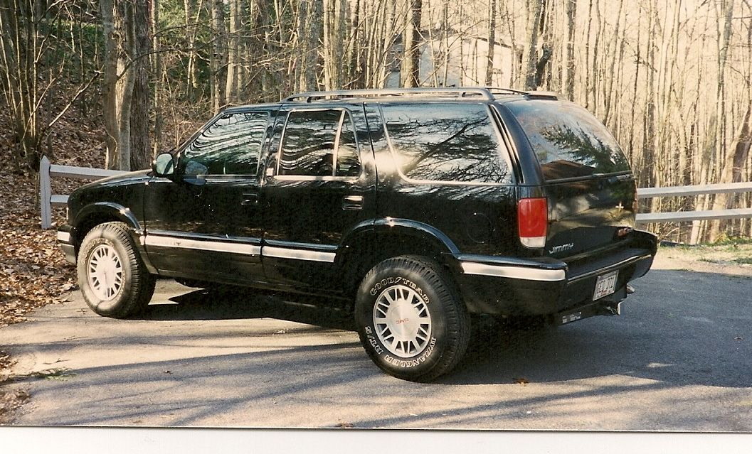 1995 GMC Jimmy. Our first sport util. Cars