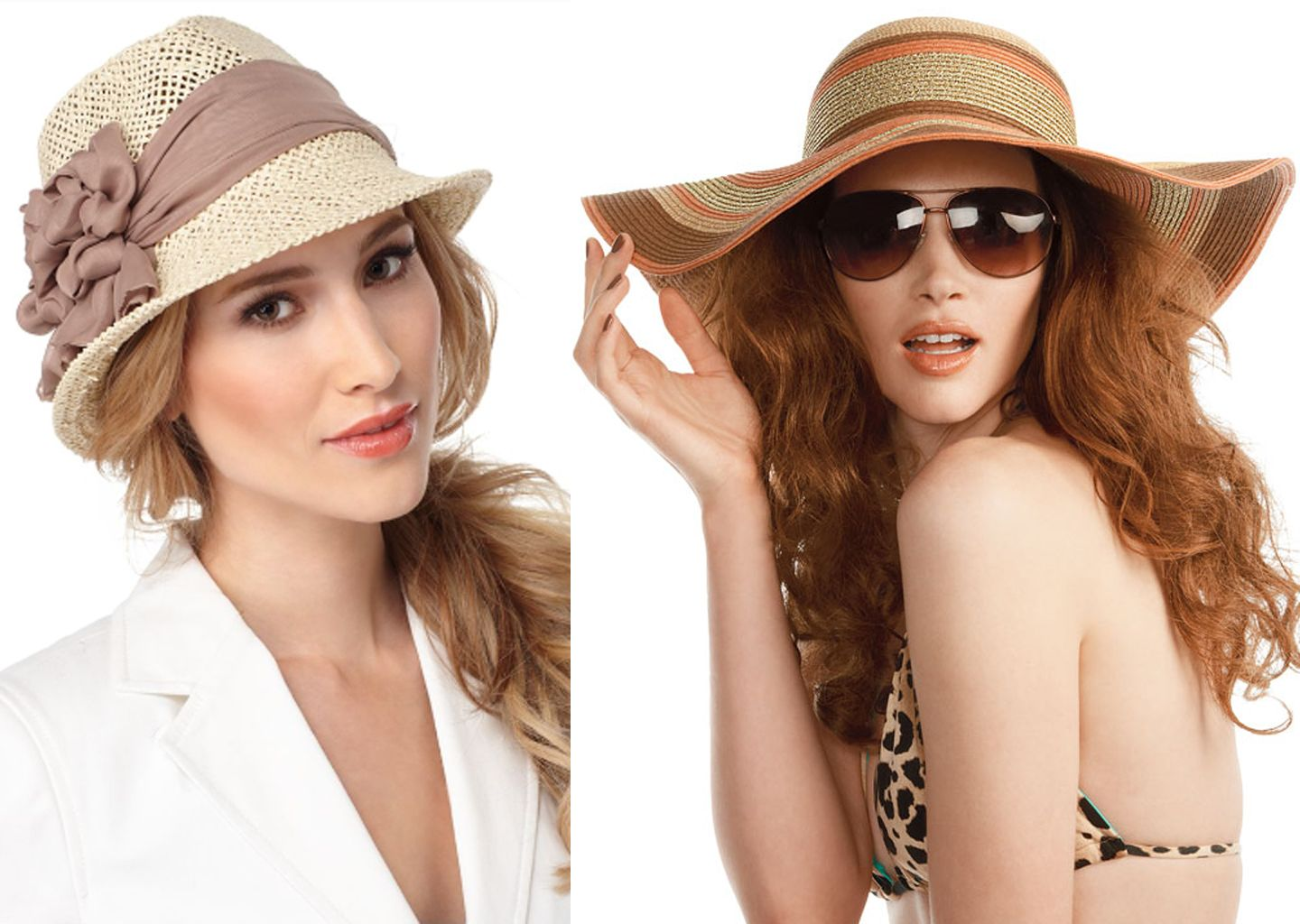 0da779bf different kinds of hats | We suggest two different types of hats this summer…  a cute fedora .