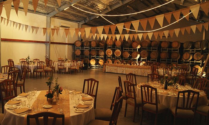Vintage Wedding Set Up At O Reilly S Canungra Valley Vineyards Cellar Door Dreamhinterlandweddings Austra Vintage Wedding Set Wedding Set Up Getting Married