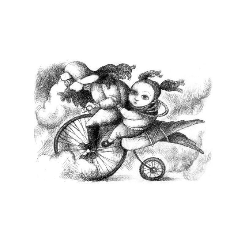 """""""Kraina Czarów [01] O pewnej dziewczynce i jej podróży do Krainy Czarów na okręcie własnoręcznie wykonanym"""" Catherynne M. Valente."""