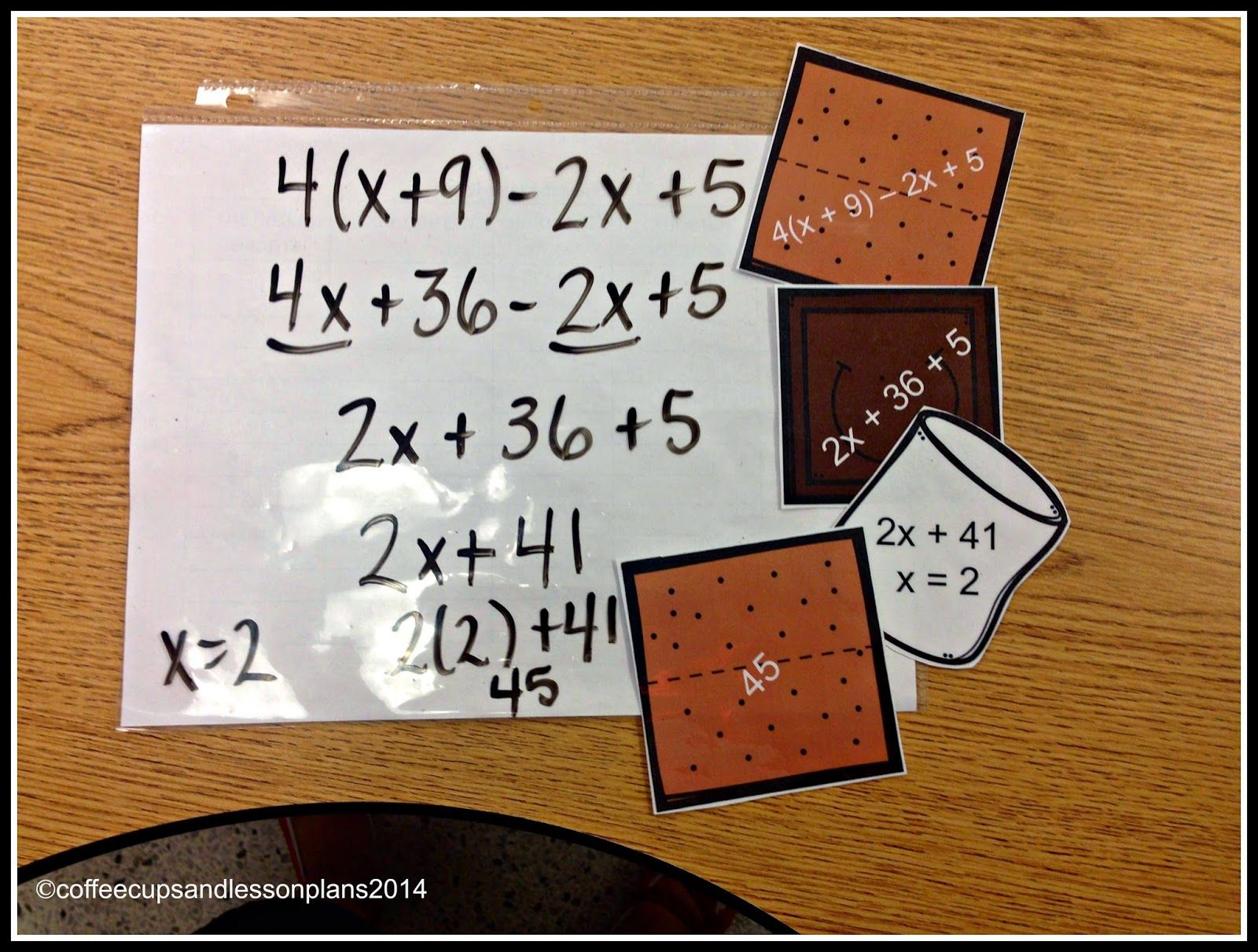 Extra Practice For Combining Like Terms And Solving
