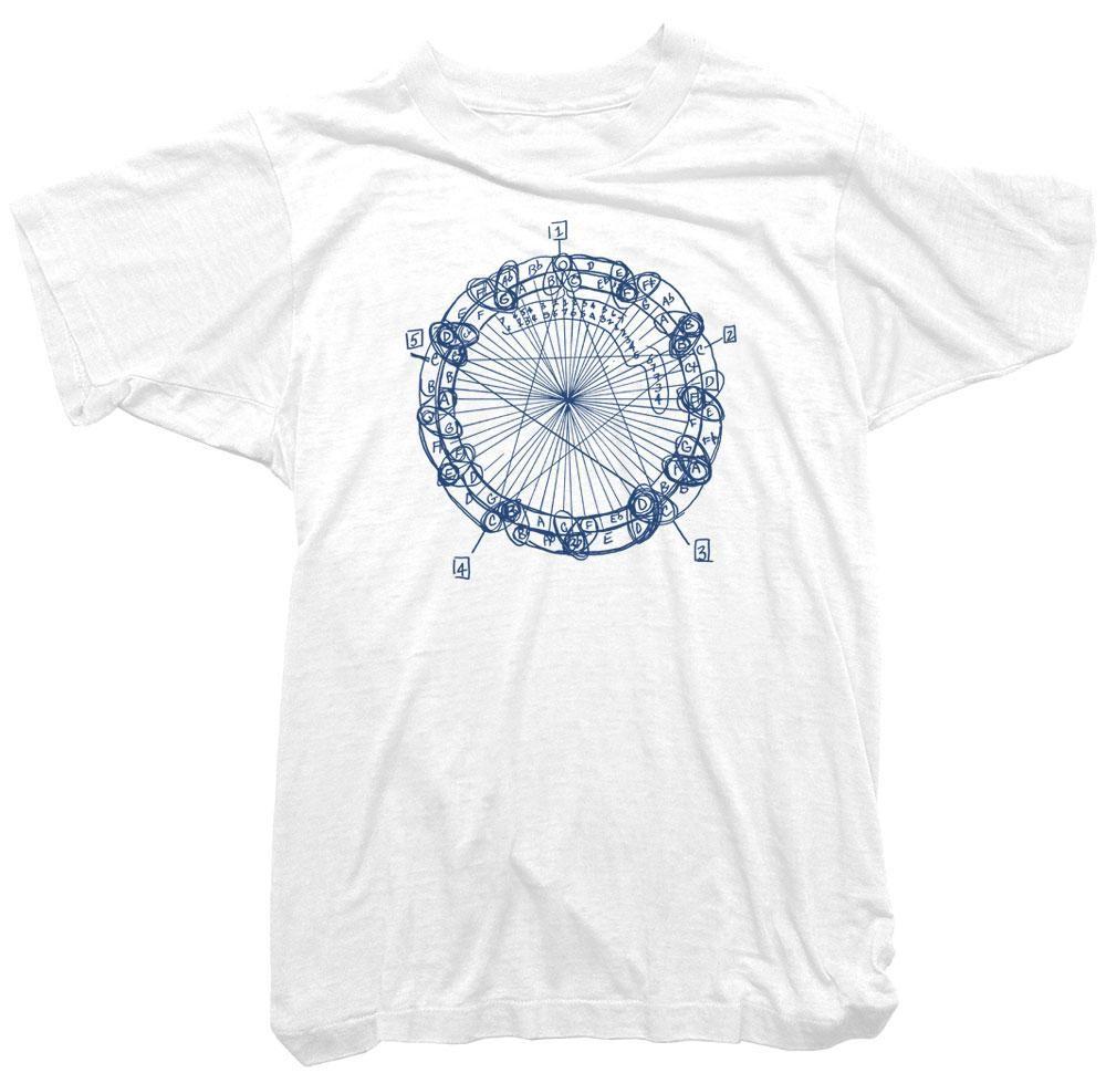 213b85009 John Coltrane T-Shirt. Coltrane Circle Tee. T-Shirt design featuring a  diagram by John Coltrane. Best know as 'The Coltrane Circle of tones' the  diagram ...
