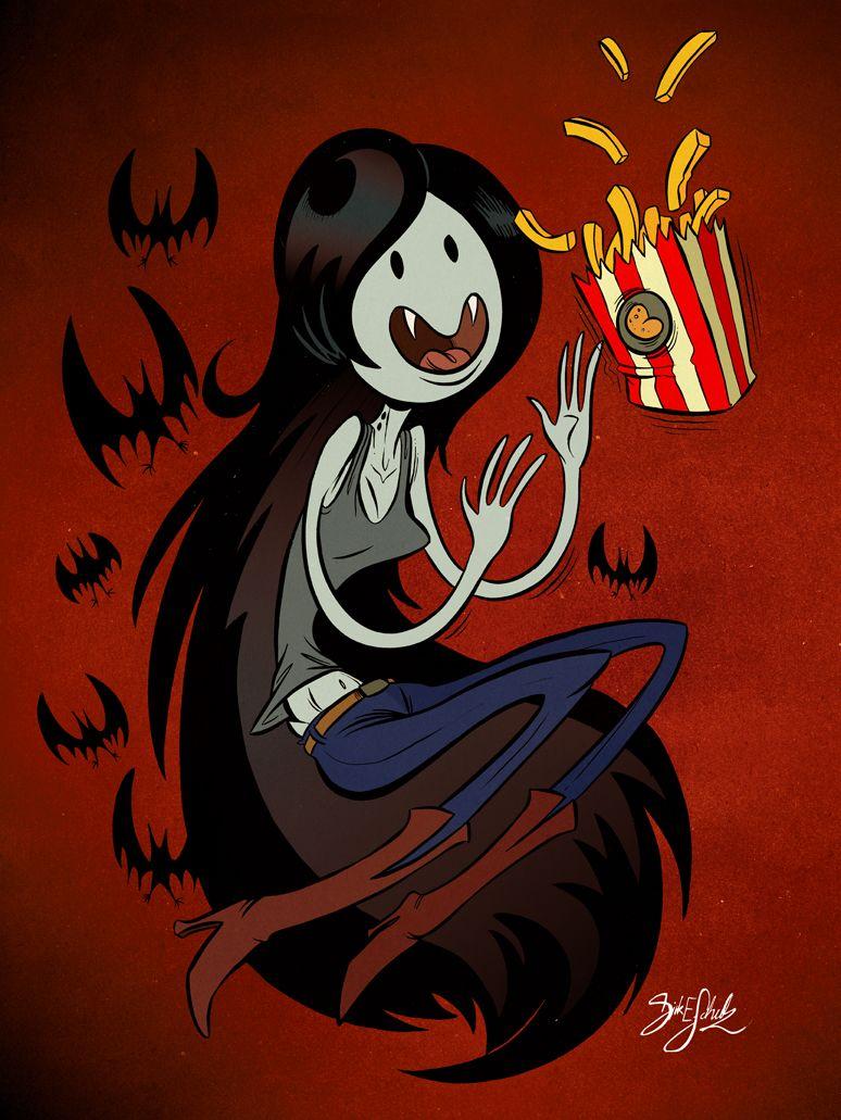 Resultado de imagem para Marceline fries