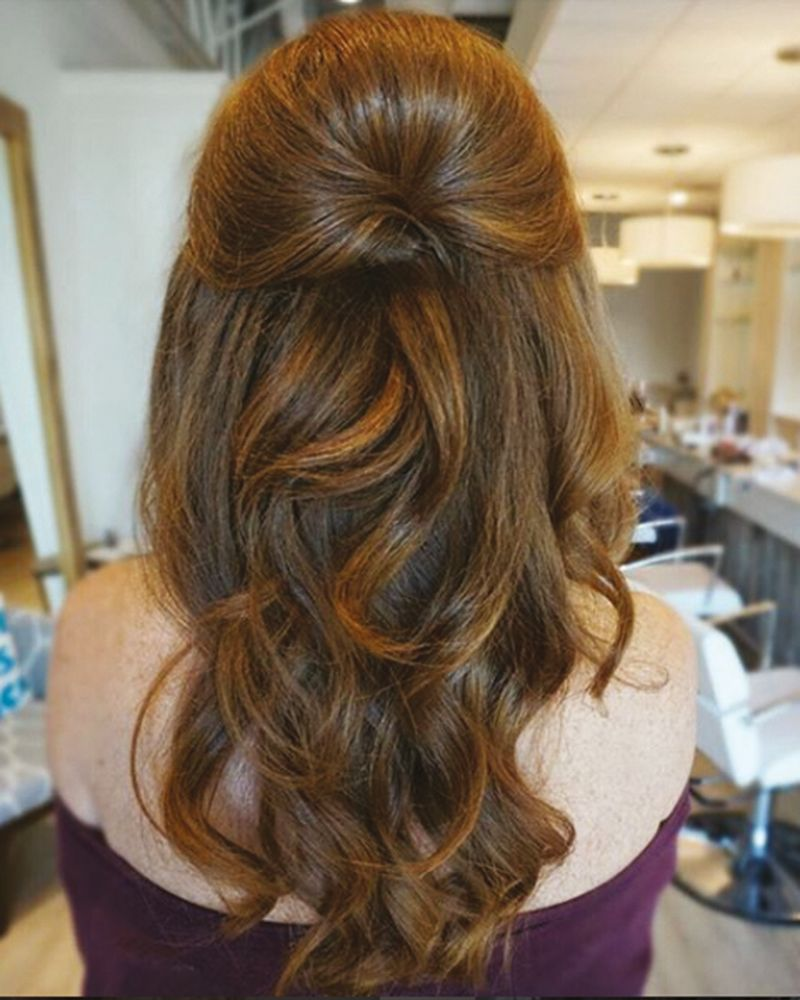 The Best Long Hair Styles For Your Wedding Day Wedding Ideas Magazine Hair Styles Long Hair Styles Prom Hairstyles For Long Hair