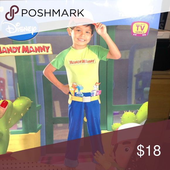 Handy Manny Costume Used once Disney Costumes Halloween ...