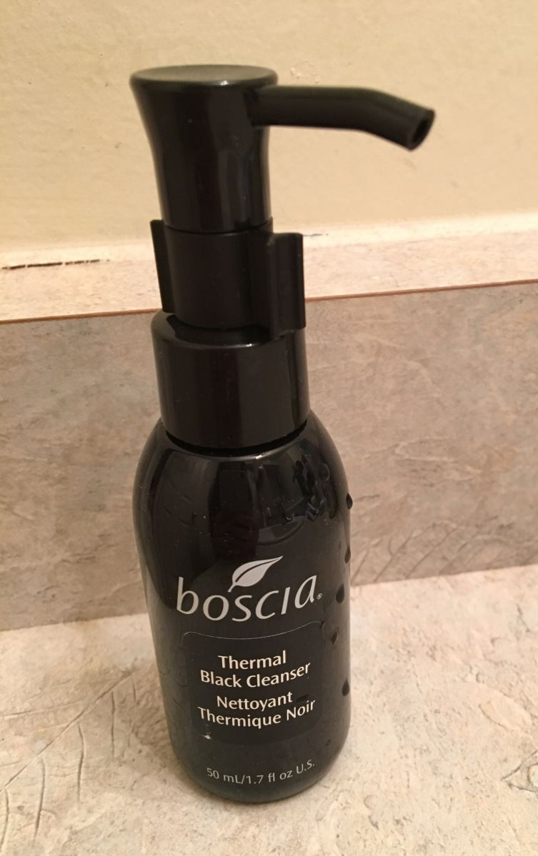 Boscia Thermal Black Cleanser Review Skin Care Products Reviewed