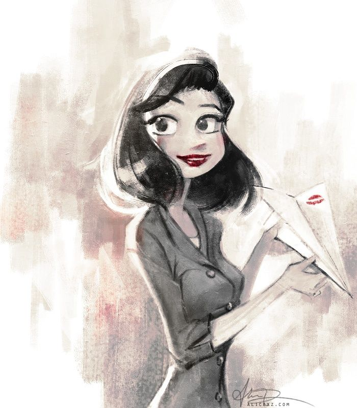 Meg from Paperman