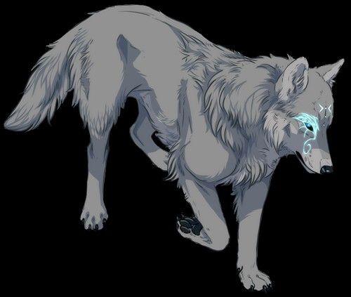Pin by Nawara Abasee on Spirit | Anime wolf drawing, Wolf art ...