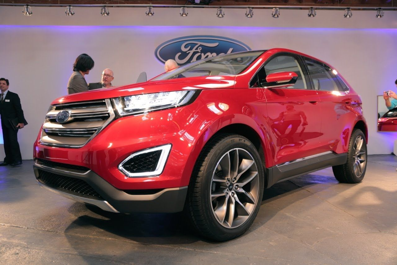 Modern Ford Products Are Built On The Pillars Of Design Fuel Economy And Technology The Latter Of Which Ford Is Putting The Focus On With The New Edge
