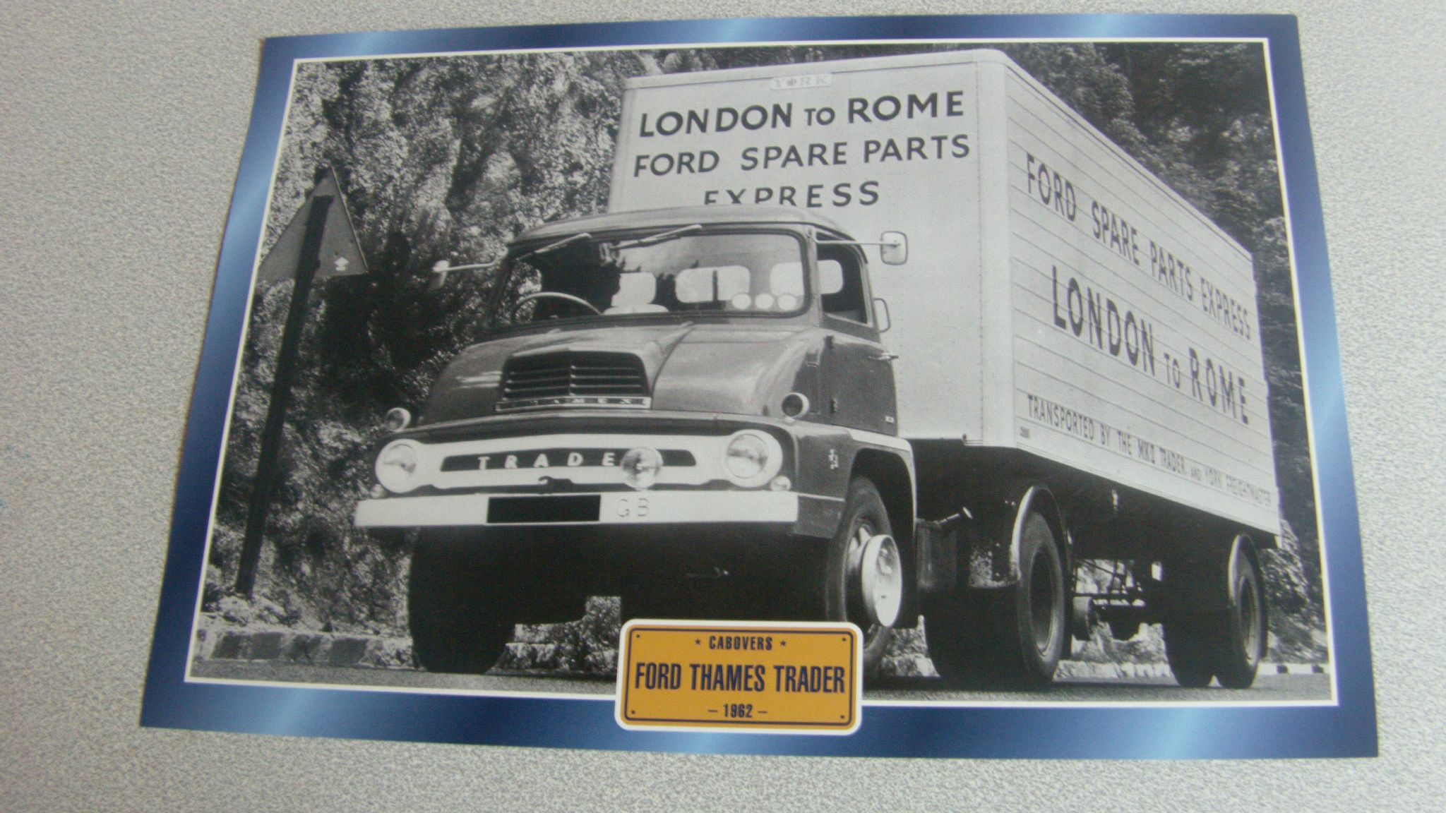 Ford Thames Trader 1962 Truck (Ford spare parts) ITEM Delightful ...