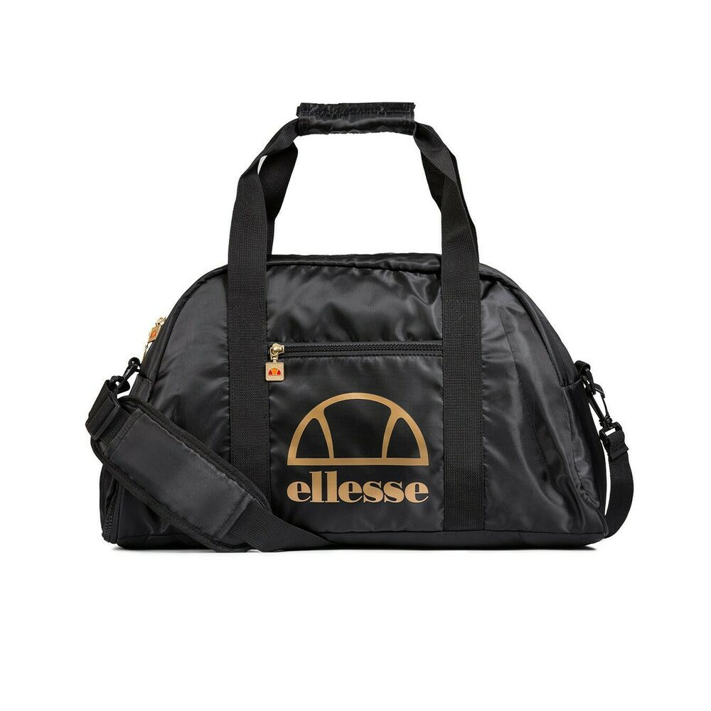 f4715faabc61 Ellesse Fiatto Weekender Mens Sports Bag Black Size 1 Sportswear Gym School   Ellesse  DuffleGymBag