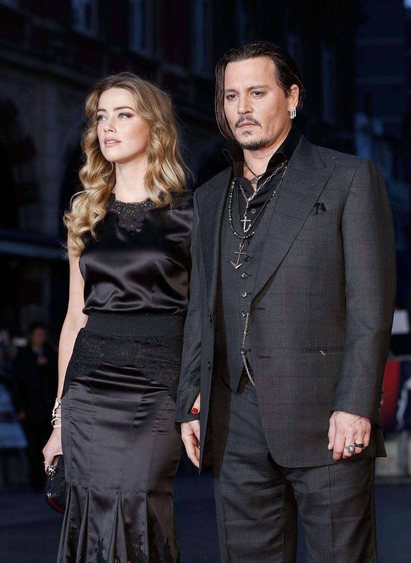 Amber Heard And Johnny Depp Johnny Depp Johnny Amber Heard Photos