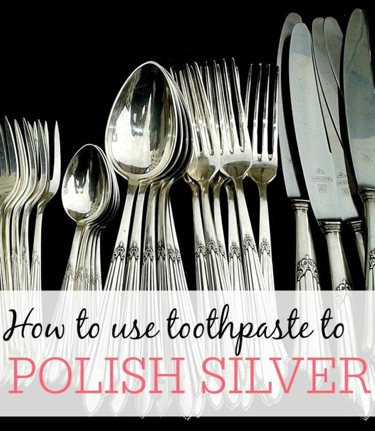 How To Use Toothpaste To Clean Silver Toothpaste