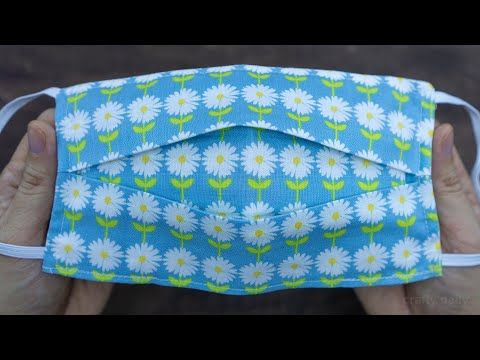 Face Mask Sewing Tutorial | How to make Face Mask with Filter Pocket | DIY Cloth Face Mask
